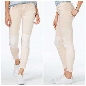 Hudson Suzzi Patched Ankle Skinny Jeans